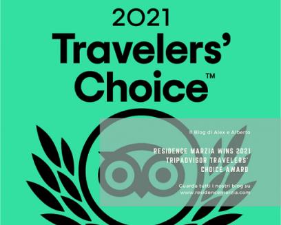 Residence Marzia Wins Tripadvisor Travelers' Choice Award
