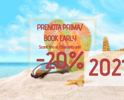 OFFER BOOK EARLY - discounts up to 20%